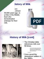 Milk Presentation