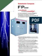 Subestación Compacta FPower; FPE