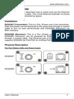 EtherWAN ED-3238-TRU User Manual