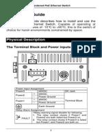 EtherWAN EX34080-00B User Manual