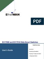 EtherWAN EX17016 User Manual
