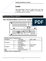 EtherWAN EX95160-00B User Manual