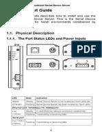 EtherWAN SE6101-00B User Manual