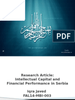 Research Article Presentation