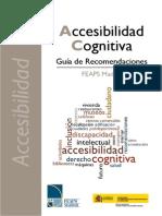 Accesibilidad Cognitiva. Guia de Recomendaciones - Baja