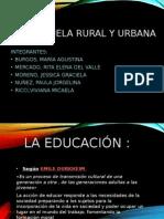 escuela rural-urbana