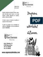 Programa Halloween 2010