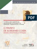 O Triunfo de Sosígenes de Costa - Fonseca e Matos