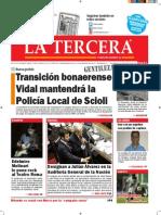 Diario La Tercera 05.11.2015