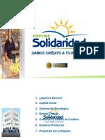 Edpyme Solidaridad y Desarrollo Huancayo 2009