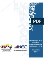 Metodologia_EUT_2012