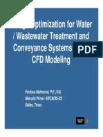 Design Optimization for Water