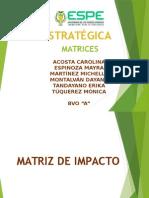 Desarrollo y aplicación de Matrices