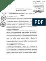 LEY AF Aprobada Pleno Congreso 7 Oct 2015