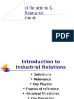 Introduction to Industrial Relations
