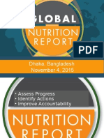 Slides from the Global Nutrition Report Dhaka launch Nov 4, 2015