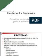 Unidade 4 - Proteínas.pptx