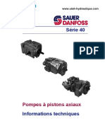 Pompes Pistons Axiaux Serie 40