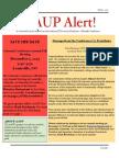 AAUP Alert Fall 2015 Newsletter