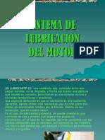 Sistema de Lubricación de Un Motor