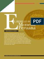 Moneda Resellada Lima Pedro de La Puente