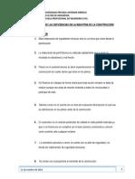 1er Trabajo Identificacion de Las Deficiencias en La Industria de La Construcción