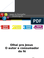 Olhai pra Jesus - Ministério de Louvor Efatá.ppt