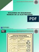 Nociones de Seguridad Eléctrica