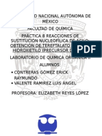 PRÁCTICA 8 REACCIONES DE SUSTITUCIÓN NUCLEOFÍLICA DE ACILO