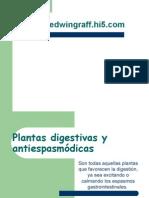 Plantas Digestivas y Antipasmodicas