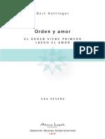 Orden y Amor (Spanish Edition) - Bert Hellinger
