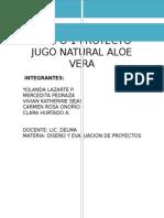 Proyecto Original Jugo Aloe