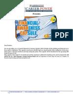 Final Financial Awareness Capsule April September