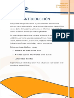 Introducción y Estudio de las Penicilinas