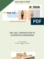 Mec2621 Lecture 1 Introduction