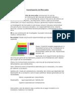 Investigación de Mercados Resumen Unidad 1-2