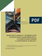 DERECHO LABORAL Y JURISDICCIÓN CONTENCIOSO ADMINISTRATIVA