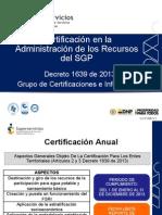 Capacitación certificación SGP vig 2013 SSPD (1)