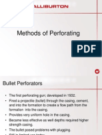 Perforation Methods