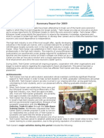 Tech Career Annual Report 2009