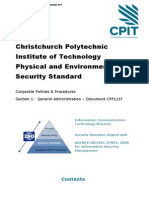CPP121f CPIT ICT Security Physical and Environmental Security Standard v2 3