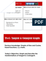 tf 5 graphing tangent   cotangent notes