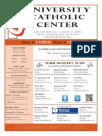 UCC Bulletin 10-25-2015
