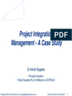 Uni of Melb - K.nogeste - Project Integration Management