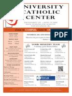UCC Bulletin 11-08-2015