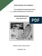 Curso de Microhidrobiología 2013