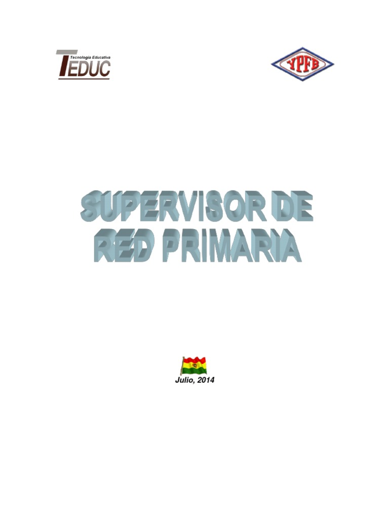 Manual SupervisorRedPrimaria