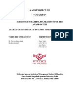 A MIS PROJECT ON INFOSYS 2.docx