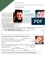 Reading Comprehension -Simple Present vs Present Continuous