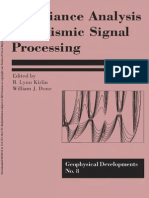 Covariance Analysis for Seismic Signal Processing